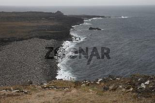 Reykjanestá cliffs. Reykjanes Peninsula