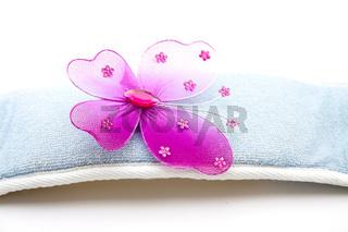 Schmetterling mit Massageband