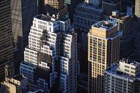 skyscrapers in Manhattan, New York City (USA)
