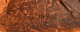 Newspaper Rock Petroglyphs in Utah