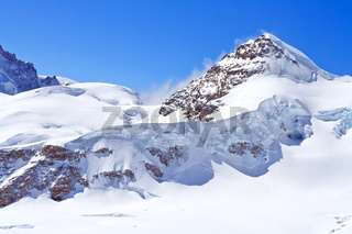 The Swiss Alps at Jungfrau region, Swizerland
