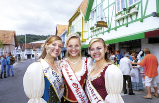 Brasilien: Oktoberfest in Blumenau