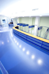 empty futuristic hall