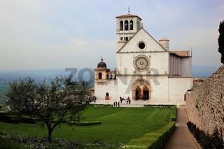 Klosterkirche San Francesco in Assisi