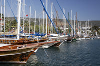 Marina of Bodrum, Turkey