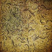 Ornamental grunge pattern