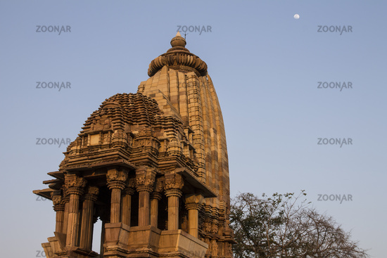 Chaturbhuj Temple of the Southern Temple Group in Khajuraho