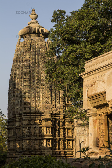 Adinath Temple of the Jain Temples complex in Khajuraho