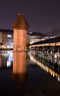 Chapel bridge Lucerne, Switzerland