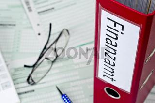 Unterlagen für das Finanzamt