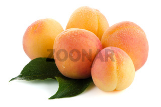 Five sweet peaches