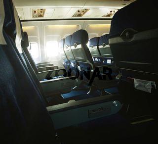 In aircraft