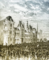 Proclamation of the Communards on 28 March 1871, Paris Commune o