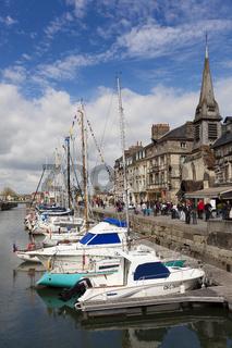 Port of Honfleur, Normandie, France