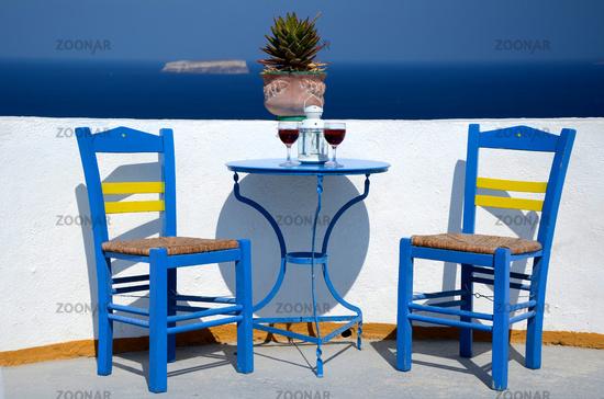 oasis of calm - Santorini - Greece
