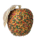Christmas apple decoration