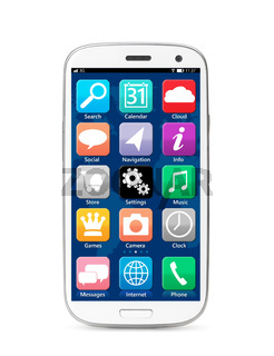 touch screen smartphone
