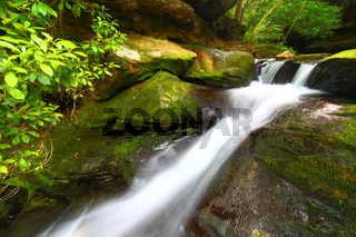 Lower Caney Creek Falls - Alabama