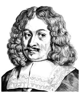 Andreas Gryphius or Greif, 1616 - 1664, a German poet and dramat