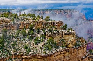 Panorama of Grand Canyon, Arizona, USA