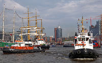 Birthday of the Port of Hamburg 2013