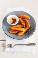 Süßkartoffeln Schupfnudeln