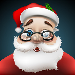 Santa Claus , vector Eps 10 illustration