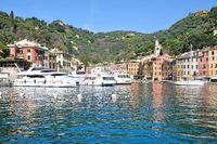 Portofino in Ligurien