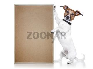 banner placeholder dog