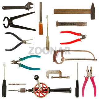 Old used tools collection 2