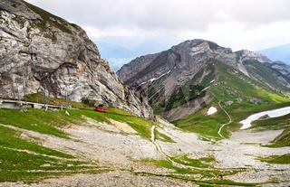 Pilatus mountain. Switzerland
