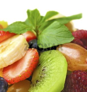 Sweet tasty fruit salad