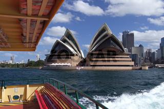 Das Opernhaus von Sydney (Australien)