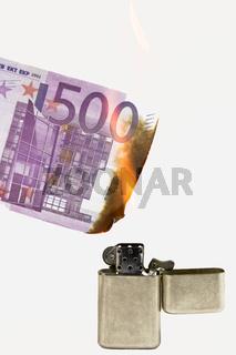 Geld verbrennen 2