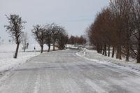 icy roadway