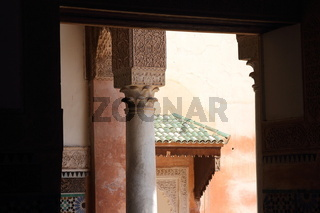 Saadian Tombs. Marrakesh