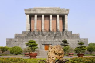 Ho Chi Minh Mausoleum, Hanoi, Vietnam, Asien