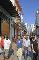 streetscenen in Havana