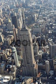 Luftaufnahme empire state building,New York City