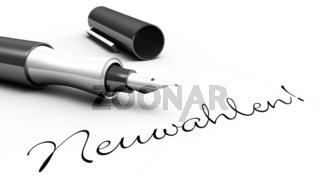 Neuwahlen! - Stift Konzept
