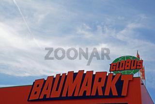 Logo Globus Baumarkt / logo Globus DIY market
