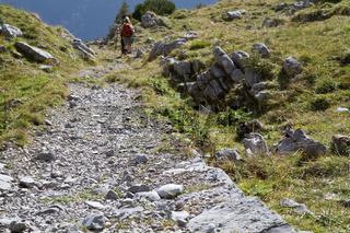 Bergwandern in den Alpen, Bayern
