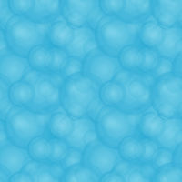 Seamless abstract blue foam pattern