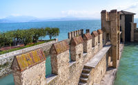 Garda lake Fortification in Sirmione