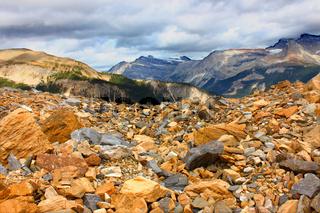 Yoho National Park Glacial Landscape