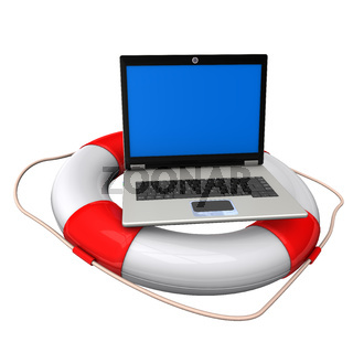 Laptop Lifebelt