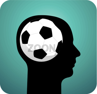 Soccer ball brains
