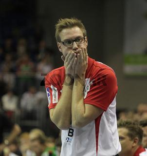 deutscher Handballtrainer,ehemaliger Handballspieler Niels Pfannenschmidt -Saison 2013/14 TBV Lemgo
