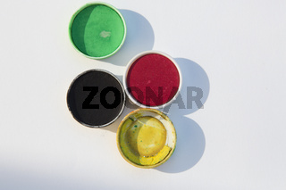 symbolbild Wahlen: Farben