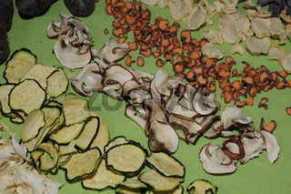 Agaricus x cultorum, Champignon, Mushroom, trocknen